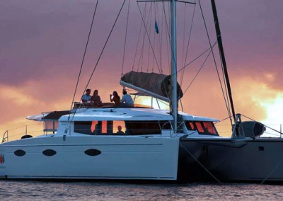 Nigel James Yacht Charter | Crewed Sailing Catamaran