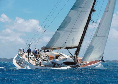Nigel James Yacht Charter | Crewed Sailing Yacht - Roulette