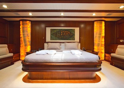 Nigel James Yacht Charter | Luxury yachts with  gorgeous living quarters