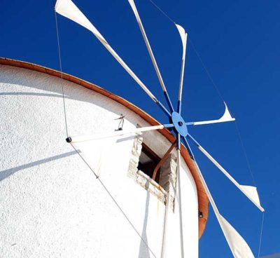 Cyclades windmill