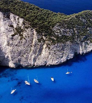 Zakynthos in the Ionian islands of Greece
