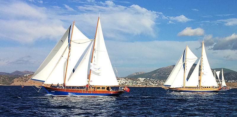 Nigel James Yacht Charter sailing gulets in Turkey