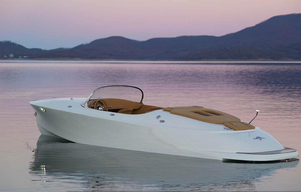 Hermes Speedster motor boat