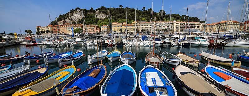 Nice port Côte d'Azur