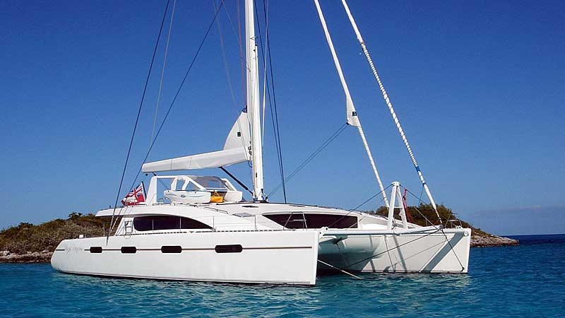 Nigel James Yacht Charter Crewed catamaran Kings Ransom chartering in the western Mediterranean