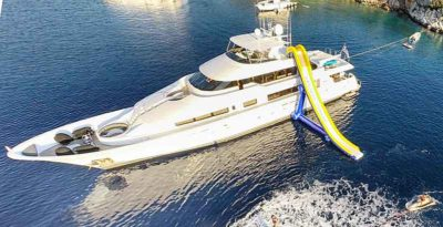 Nigel James Yacht Charter crewed charter yacht Endless Summer in Greece