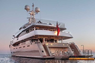 Nigel James Yacht Charter crewed megayacht Light Holic