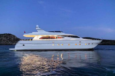 Nigel James Yacht Charter crewed charter motor yacht Parcifal