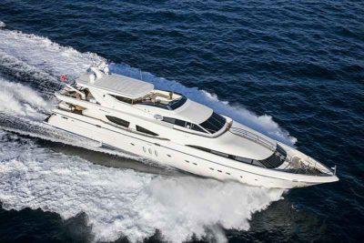 Nigel James Yacht Charter crewed charter motor yacht Rini