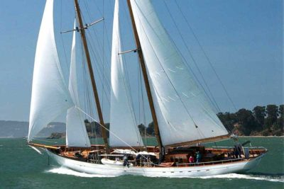 Nigel James Yacht Charter crewed sailing yacht Eros