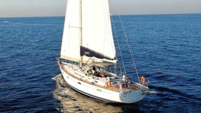 Nigel James Yacht Charter crewed sailing yacht Sea Star in Greece