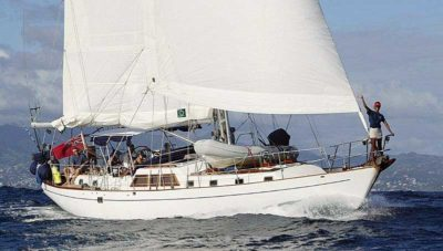Nigel James Yacht Charter crewed sailing yacht The Dove in the Caribbean