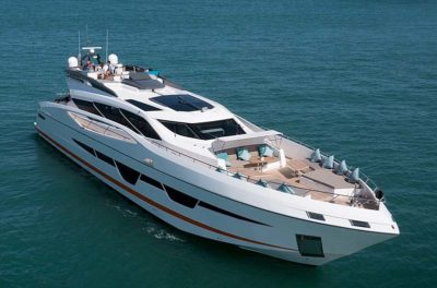 Nigel James Yacht Charter crewed charter motor yacht Dolce Vita in Thailand