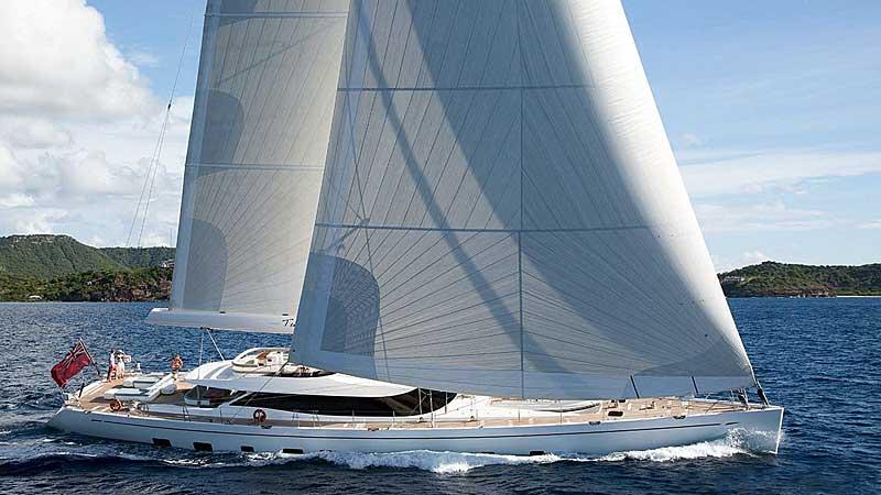 Nigel James Yacht Charter Crewed sailing yacht Twilight