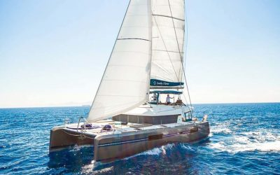Choice of two luxury crewed catamarans in Greece at 20% discount