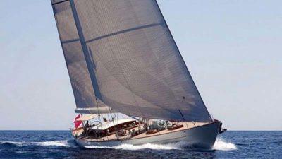 Nigel James Yacht Charter Crewed charter sailing yacht Aurelius III