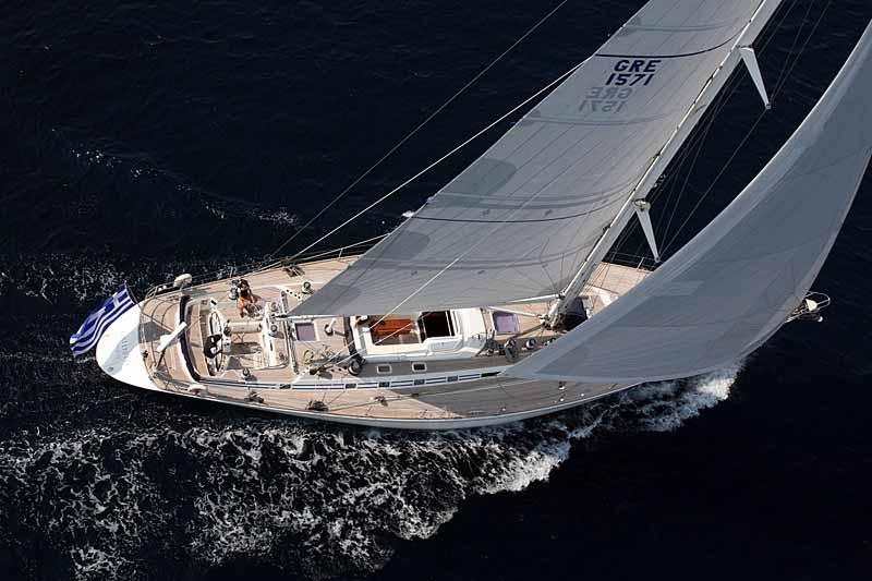 Nigel James Yacht Charter crewed charter Swan sailing yacht Callistó in Greece