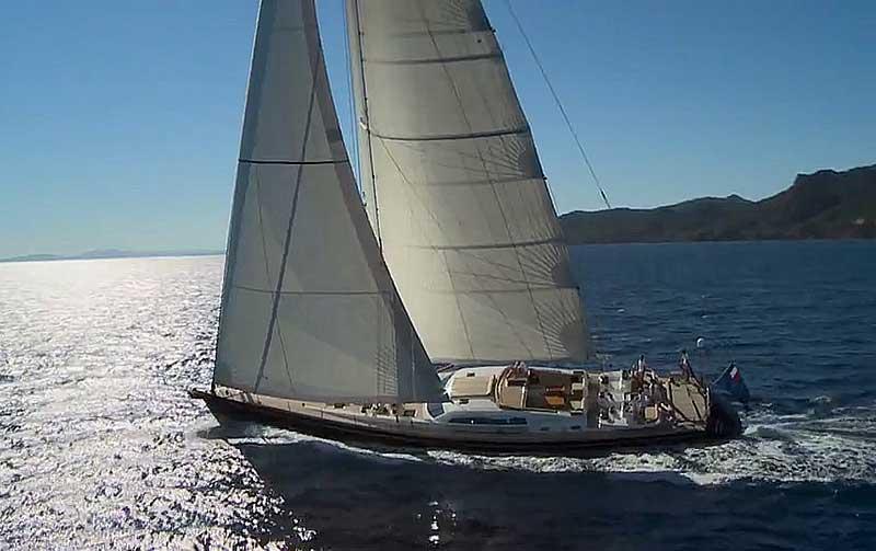 Nigel James Yacht Charter crewed charter CNB 95 sailing yacht Grand Bleu Vintage