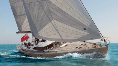 Nigel James Yacht Charter crewed Oyster sailing yacht Luskentyre