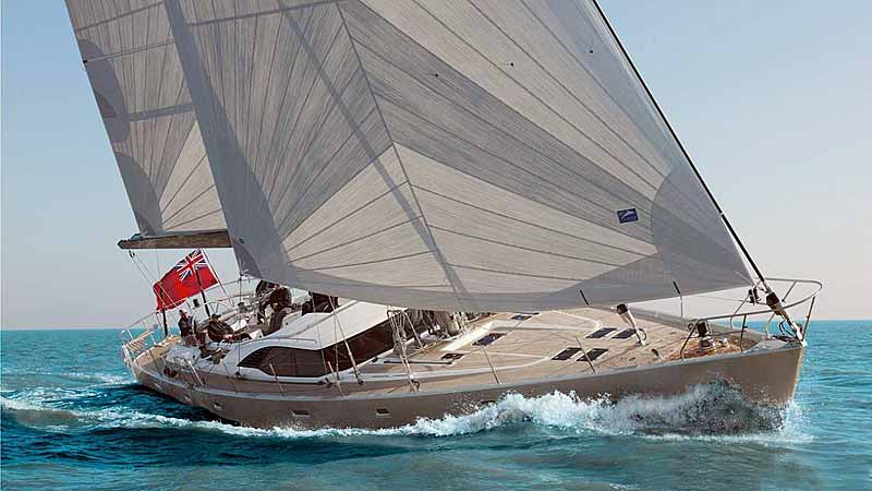 Nigel James Yacht Charter crewed Oyster sailing yacht Luskentyre