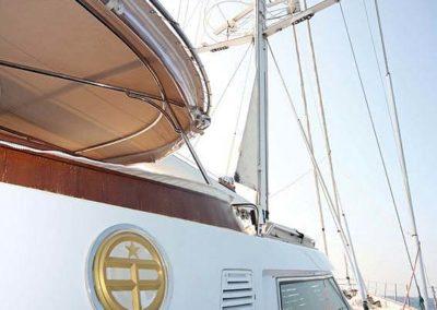 Nigel James Yacht Charter crewed sailing yacht Gitana gallery