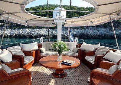Nigel James Yacht Charter sailing yacht Gitana gallery