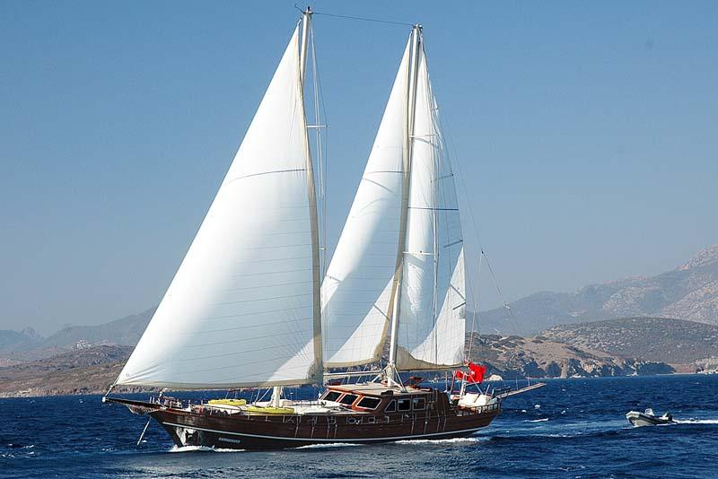 Nigel James Yacht Charter crewed gulet Samarkand