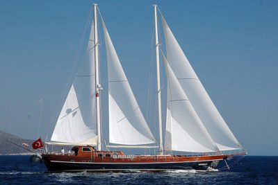 Nigel James Yacht Charter crewed gulet Zephyria II