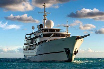 Nigel James Yacht Charter crewed megayacht Chakra