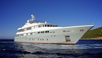 Nigel James Yacht Charter crewed superyacht O'Ceanos