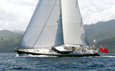 Nigel James Yacht Charter crewed charter sailing yacht Dama de Noche