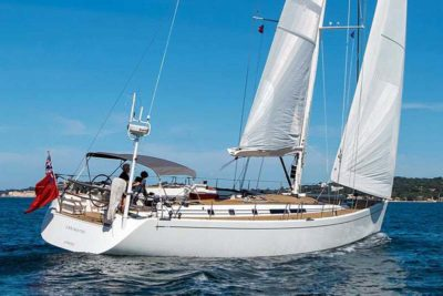 Nigel James Yacht Charter crewed Swan sailing yacht Enigma VIII