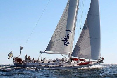 Nigel James Yacht Charter crewed Swan sailing yacht Ichiban in Sweden