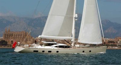 Nigel James Yacht Charter crewed sailing yacht Penelope