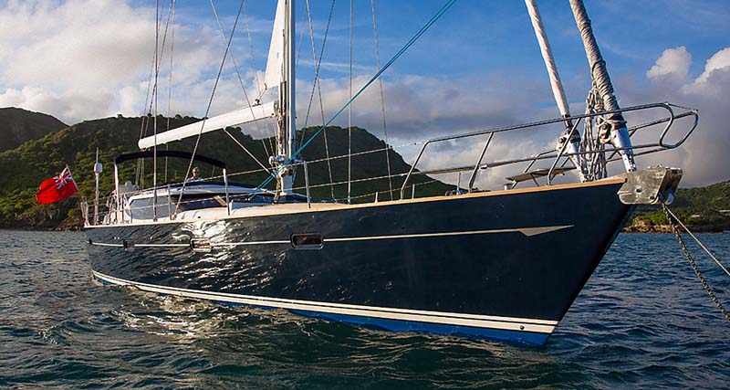 Nigel James Yacht Charter crewed sailing yacht Tilly Mint