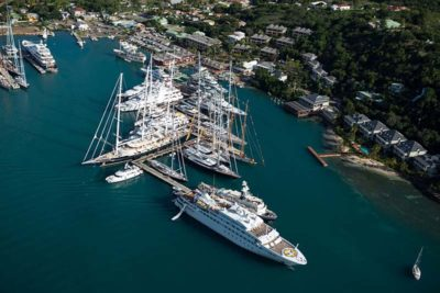Nigel James Yacht Charter | Antigua Charter Yacht Show aerial