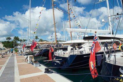 Nigel James Yacht Charter | Antigua Charter Yacht Show dock