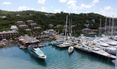 Nigel James Yacht Charter | Antigua Yacht Club marina