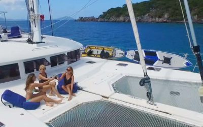 Caribbean special offer for crewed catamaran SERENITY NOW