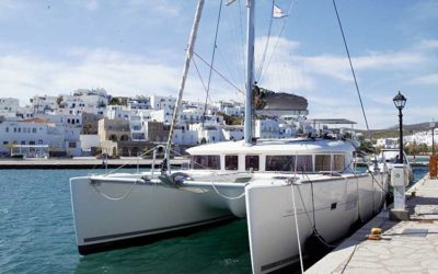 Lagoon 400 Catamaran Special Offer for May in Greece
