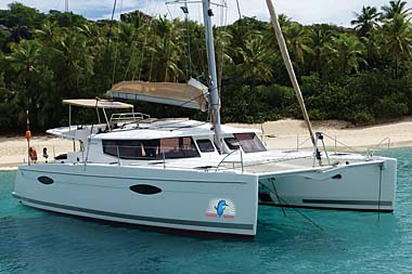 6 Crewed catamarans for BVI Caribbean summer charters