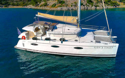 Super August discounted catamaran in Greece
