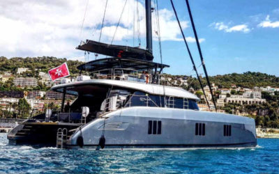 Luxurious Electric, Eco-Conscious Catamaran Now Available for Charter