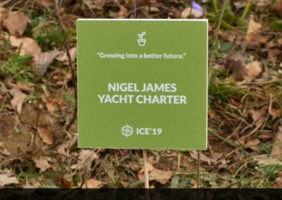 The first Nigel James Yacht Charter tree!